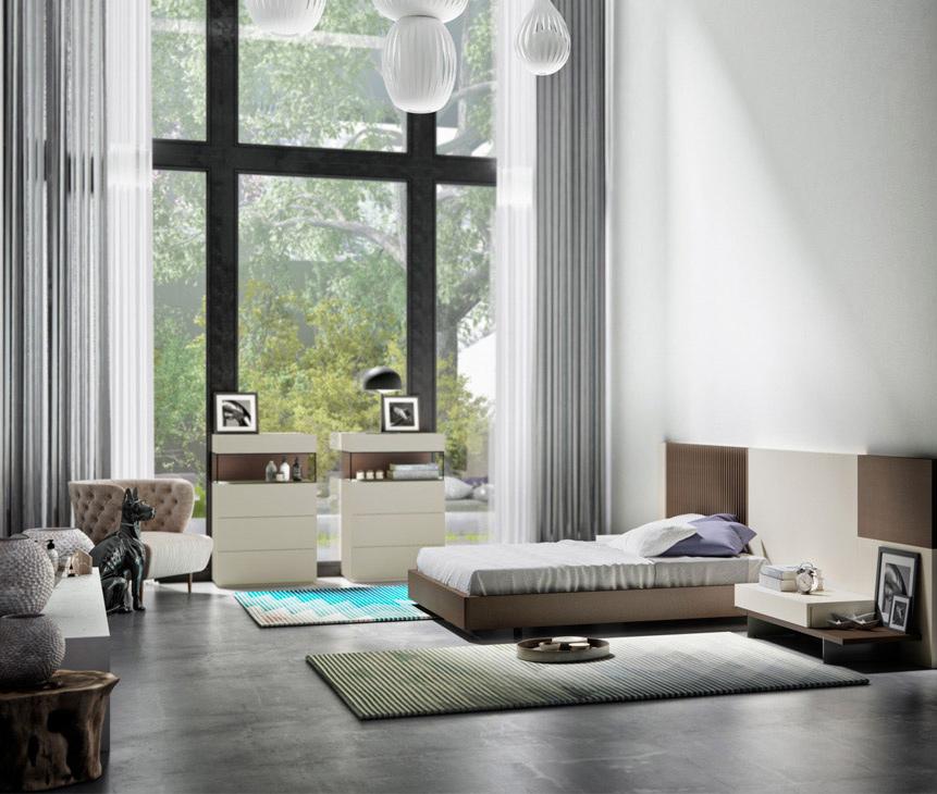 dormitorio a medida boceto interiorismo valencia